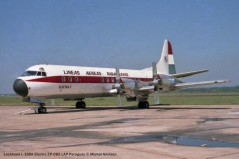 041 Lockheed L-188A Electra ZP-CBZ LAP-Paraguay © Michel Anciaux