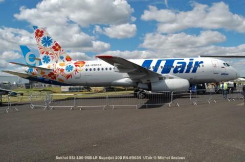 044 Sukhoi SSJ-100-95LR Superjet 100 RA-89034 UTair © Michel Anciaux