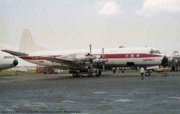 046 Lockheed L-188A Electra 9Q-CRR Trans Service Airlift © Michel Anciaux
