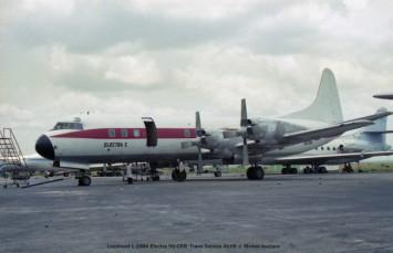 047 Lockheed L-188A Electra 9Q-CRR Trans Service Airlift © Michel Anciaux