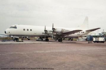 048 Lockheed L-188A Electra 9Q-CRR Trans Service Airlift © Michel Anciaux