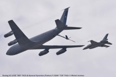 076 Boeing KC-135E ''982'' FACh & General Dynamics (Fokker) F-16AM ''726'' FACh © Michel Anciaux