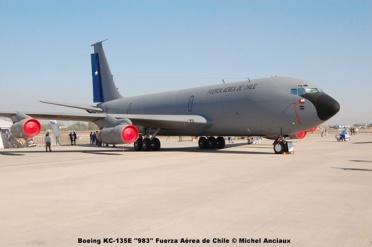 410 Boeing KC-135E ''983'' Fuerza Aérea de Chile © Michel Anciaux