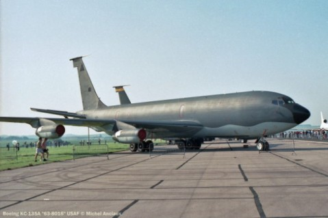 918 Boeing KC-135A ''63-8016'' USAF © Michel Anciaux
