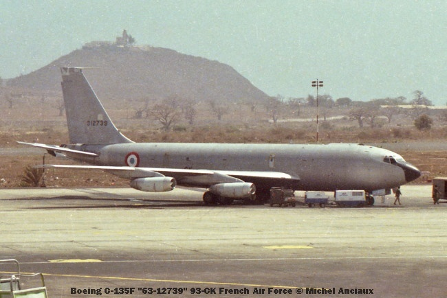 919 Boeing C-135F ''63-12739'' 93-CK French Air Force © Michel Anciaux