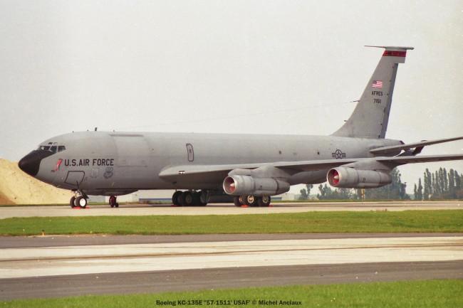 921 Boeing KC-135E ''57-1511' USAF' © Michel Anciaux