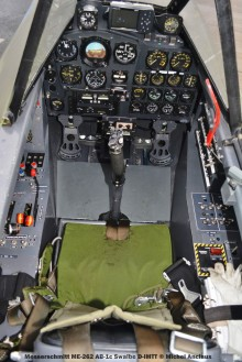 DSC_0670 Cockpit of Messerschmitt ME-262 AB-1c Swalbe D-IMTT © Michel Anciaux