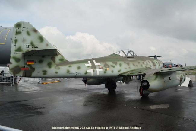 DSC_1017 Messerschmitt ME-262 AB-1c Swalbe D-IMTT © Michel Anciaux