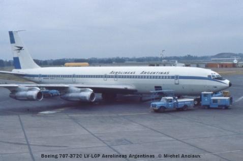 img026 Boeing 707-372C LV-LGP Aerolineas Argentinas
