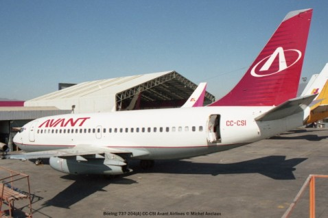 img1008 Boeing 737-204(A) CC-CSI Avant Airlines © Michel Anciaux