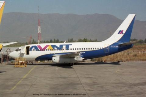 img1009 Boeing 737-204(A) CC-CSH Avant Airlines © Michel Anciaux