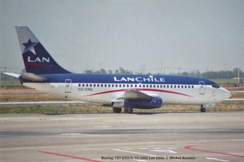 img1040 Boeing 737-230(A) CC-CRQ Lan Chile © Michel Anciaux