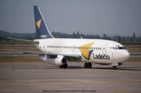 img577 Boeing 737-2Q8 CC-CLD LADECO © Michel Anciaux