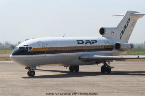 img610 Boeing 727-23 CC-CLJ DAP © Michel Anciaux