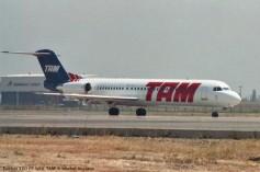 img615 Fokker 100 PT-WHL TAM © Michel Anciaux