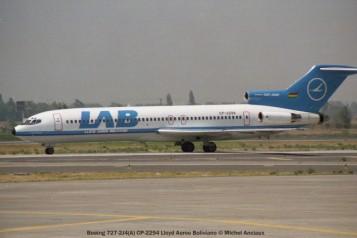 img626 Boeing 727-2J4(A) CP-2294 Lloyd Aereo Boliviano © Michel Anciaux