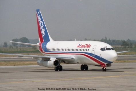 img630 Boeing 737-230(A) CC-CRS LAN Chile © Michel Anciaux