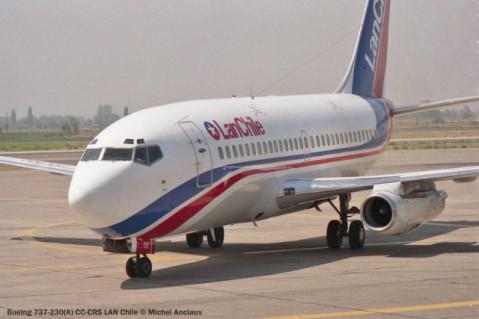 img649 Boeing 737-230(A) CC-CRS LAN Chile © Michel Anciaux