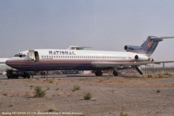 img658 Boeing 727-287(A) CC-CSK National Airlines © Michel Anciaux