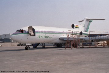img660 Boeing 727-23 ex CC-CLZ AeroSur Bolivia © Michel Anciaux