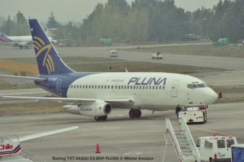 img704 Boeing 737-2A3(A) CX-BOP PLUNA © Michel Anciaux