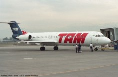 img705 Fokker 100 PT-MRX TAM © Michel Anciaux