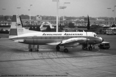 img739 Hawker Siddeley HS-748 Sr 1-105 LV-HHE Aerolineas Argentinas © Michel Anciaux