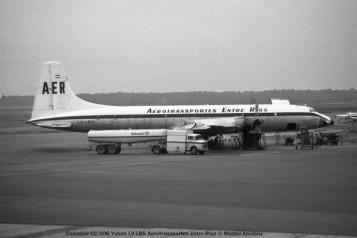 img750 Canadair CC-106 Yukon LV-LBS Aerotransportes entre Rios © Michel Anciaux