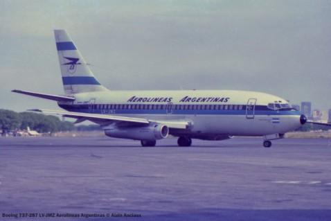 img772 Boeing 737-287 LV-JMZ Aerolineas Argentinas © Alain Anciaux
