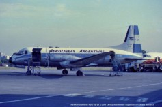 img775 Hawker Siddeley HS-748 Sr 1-105 LV-IEE Aerolineas Argentinas © Alain Anciaux