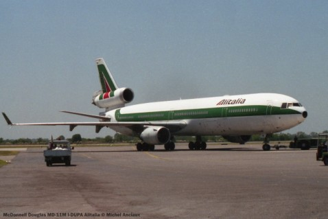 img801 McDonnell Douglas MD-11M I-DUPA Alitalia © Michel Anciaux