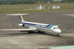 img804 McDonnell Douglas MD-88 LV-VBX Aerolineas Argentinas © Michel Anciaux