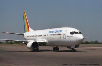 img806 Boeing 737-4Y0 PT-TEO Trans Brasil © Michel Anciaux