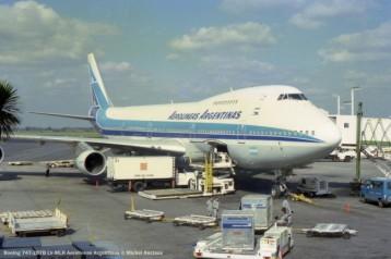 img824 Boeing 747-287B LV-MLR Aerolineas Argentinas © Michel Anciaux