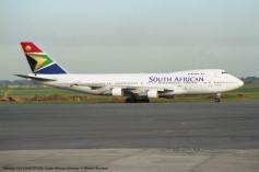 img900 Boeing 747-244B ZS-SAL South African Airways © Michel Anciaux