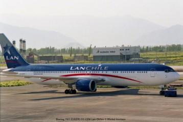 img910 Boeing 767-316(ER) CC-CZW Lan Chiles © Michel Anciaux