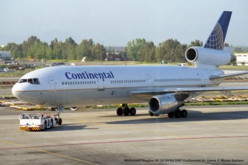 img912 McDonnell Douglas DC-10-30 N17087 Continental Air Liness © Michel Anciaux