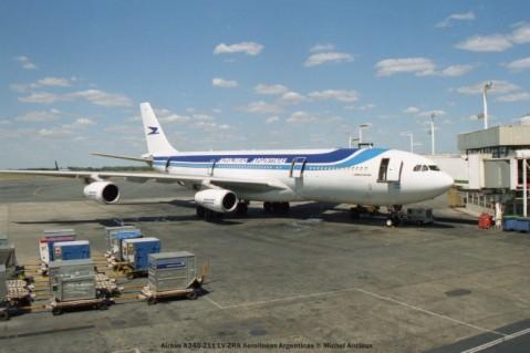 img918 Airbus A340-211 LV-ZRA Aerolineas Argentinas © Michel Anciaux