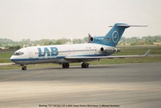 img942 Boeing 727-2K3(A) CP-1366 Lloyd Aereo Boliviano © Michel Anciaux
