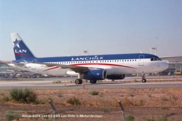 img994 Airbus A320-233 CC-COC Lan Chile © Michel Anciaux