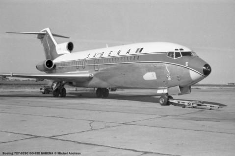 009 Boeing 727-029C OO-STE SABENA © Michel Anciaux