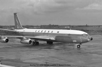 010 Boeing 707-329C OO-SJH SABENA © Michel Anciaux
