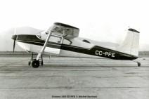 010 Cessna 180 CC-PFE © Michel Anciaux