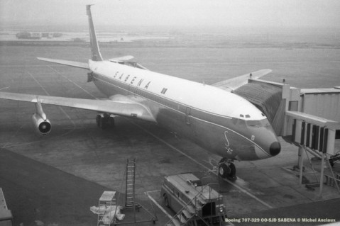 012 Boeing 707-329 OO-SJD SABENA © Michel Anciaux