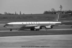 014 Boeing 707-329 OO-SJA SABENA © Michel Anciaux
