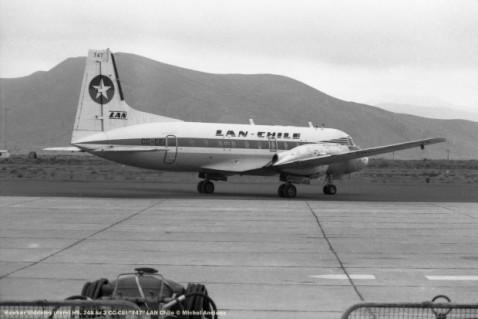 017 Hawker Siddeley (Avro) HS. 748 Sr 2 CC-CEI ''747'' LAN Chile © Michel Anciaux
