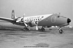 019 Douglas DC-6B TR-LQE Gabonair © Michel Anciaux