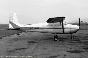 020 Cessna 172 CC-KSF Club Aereo de Santiago © Michel Anciaux