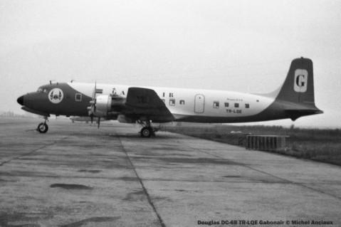 021 Douglas DC-6B TR-LQE Gabonair © Michel Anciaux