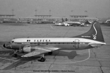 023 Convair 440 OO-SCL SABENA © Michel Anciaux